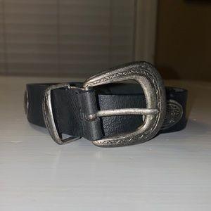 Merona Vintage Black Belt